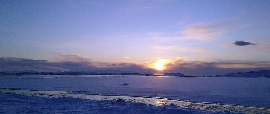 Svalbard byr på storslåtte naturopplevelser