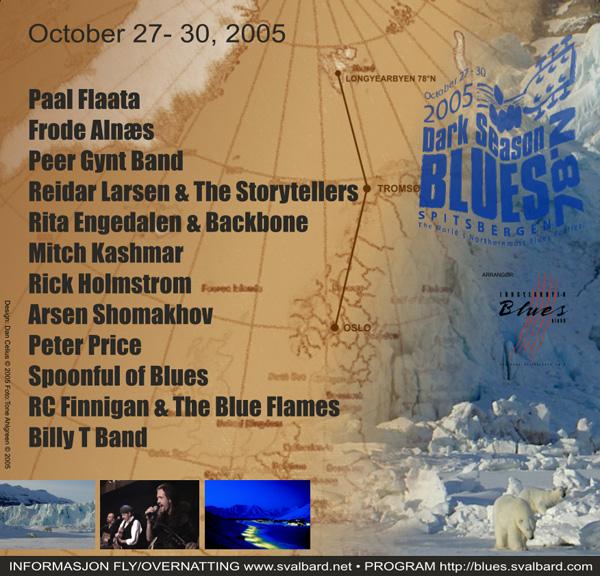 Annonse dark season blues 2005