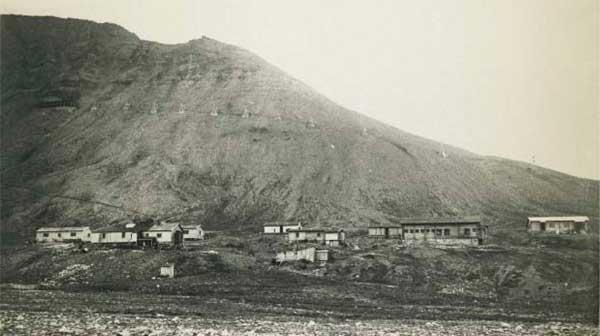 Første bebyggelsen i longyearbyen i 1908