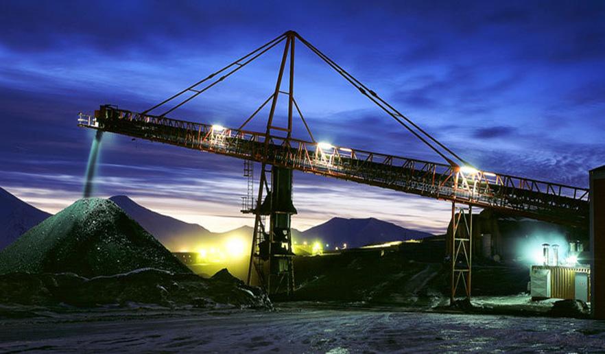 Store Norske driver kullgruver på Svalbard. Svea og Gruve 7.
