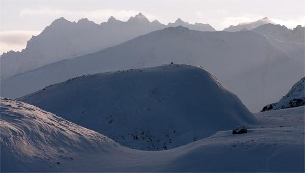 Fjellformasjoner. Nord-Øst Spitsbergen