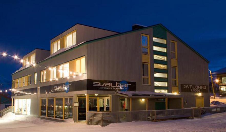 Svalbard Lodge ligger i sentrum av Longyearbyen på Svalbard. Utleie av 2- og 3-roms leiligheter