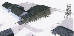 Sandmo og Svenkerud bygget Kulturhuset i longyearbyen