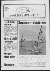 Svalbardposten 80-tallet