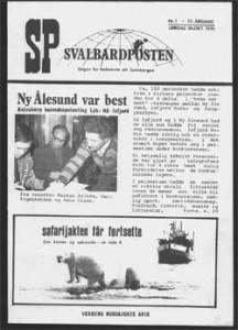 Svalbardposten 70-tallet