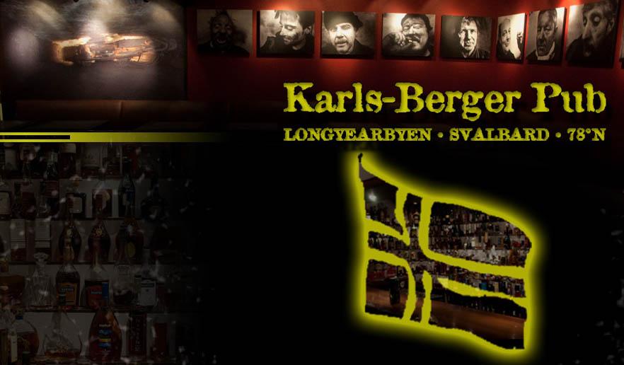 Karls Berger Pub i Longyearbyen på Svalbard