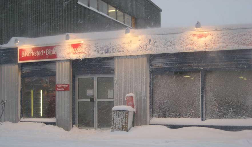 Svalbard Auto holder til i Longyearbyen