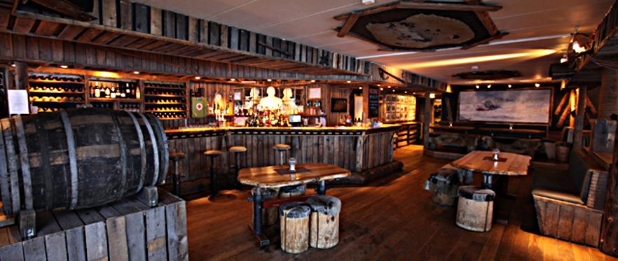 Kroa, popular restaurant and bar in Longyearbyen, Svalbard.