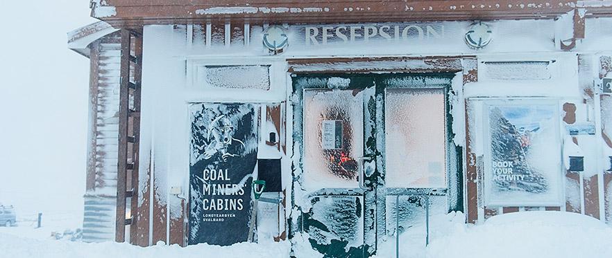 Coal Miners Cabins i nybyen er et nyoppusset gjestegiveri