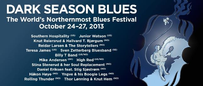 Lineup Dark Season Blues 2013