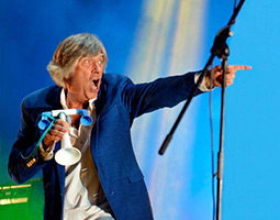Legenden Mike Vernon kommer til Longyearbyen med The Mighty Combo