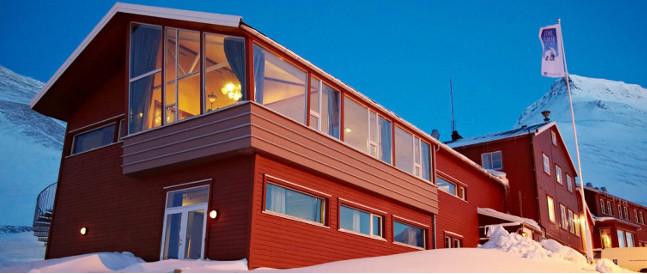 Spitsbergen Hotel - Funken ligger på Svalbard Longyearbyen