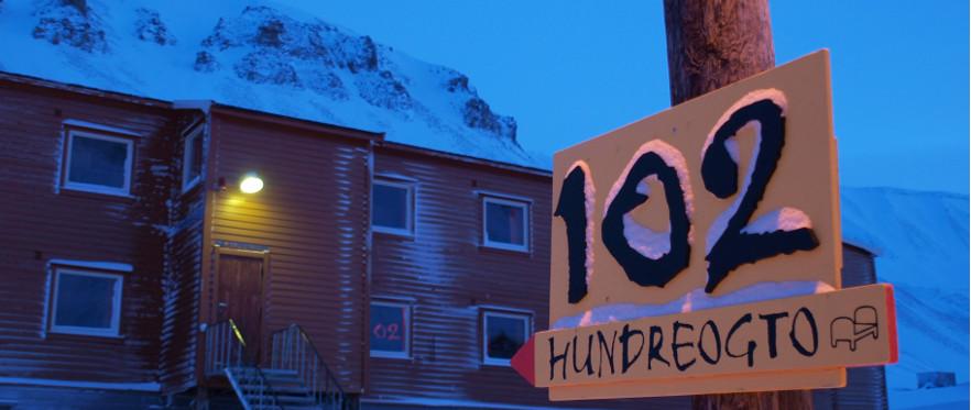 Gjestehuset 102 i Longyearbyen tilbyr rimelig overnatting