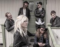 Til Longyearbyen kommer Lisa Lystam med sitt Family Band for å spille på årets bluesfestival