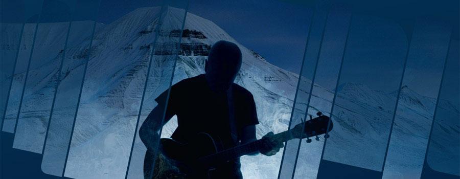 Festivalen Dark Season Blues arrangeres i oktober på Svalbard
