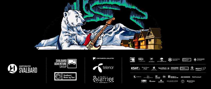 Samarbeidspartnere og sponsorer til bluesfestivalen Dark Season Blues