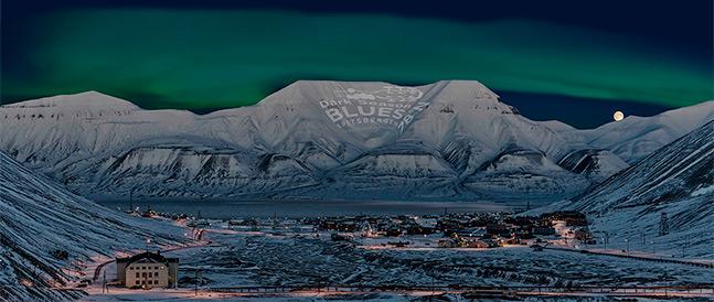 Blues festivalen på Svalbard i Longyearbyen