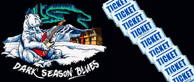 Billettsalget til bluesfestivalen på svalbard har startet.