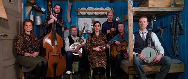 Blåmyra er Svalbard og Longyearbyens beste bluegrassband