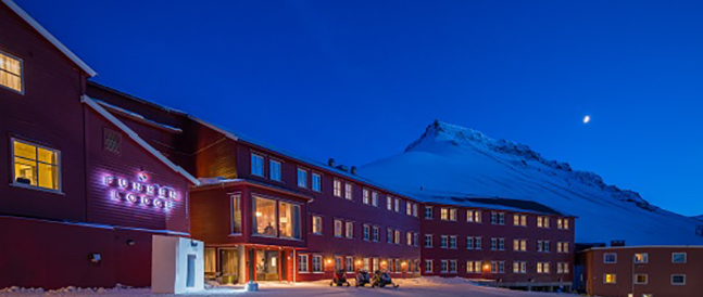 Funken, overnattingssted Hurtigruten Svalbard
