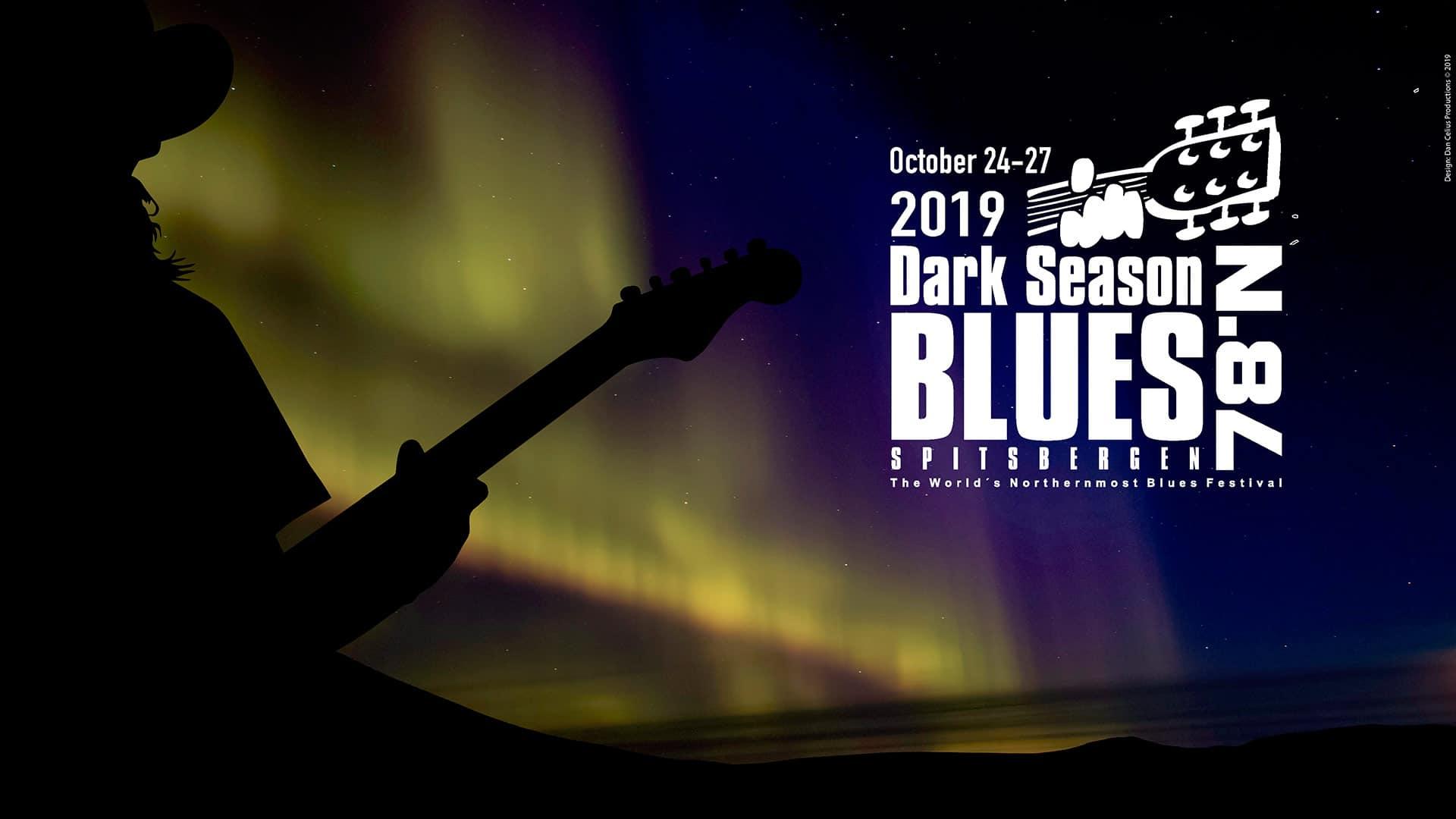 Festivalen Dark Season Blues Spitsbergen arrangeres for syttende gang i 2019